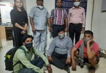 Palwal Three people were arrested after being raided by the Health Department team for conducting gender check