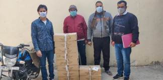 Crime Branch DLF team arrested 3 liquor smugglers with 10 patties of country liquor