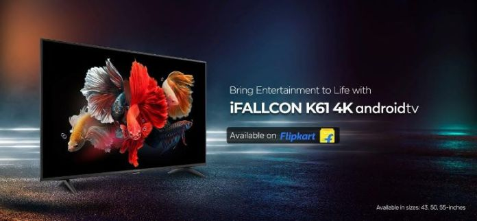 IFolcan launches K61-4K Android TV for Rs 24,999