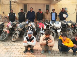Crime Branch 56 arrested four gang gangsters including Desi Katta while exposing vehicle thief gang