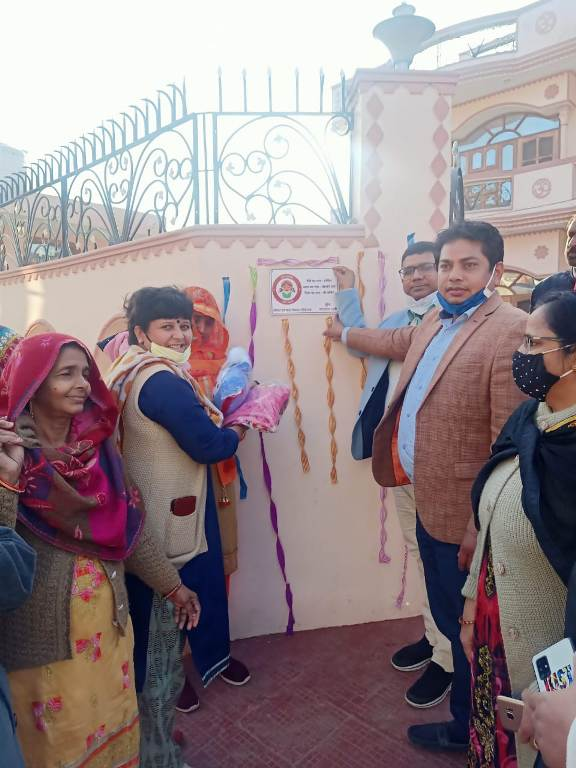 Under the campaign of Beti Bachao Beti Padhao, name plates of daughters' names will be installed outside the houses Naresh numberdar