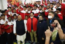 Union Minister Kiran Rijiju inaugurates world-class Ultimate Kho Kho training camp at Manav Rachna Shikshan Sansthan