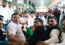 State President Ravindra Sangwan attended the youth activist conference of JGP.