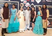 Fashion show in Gurugram In the heat of Delhi, the models scattered on the ramp in the heat of Delhi