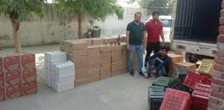 Crime Branch team arrested liquor smuggler at NHPC chowk