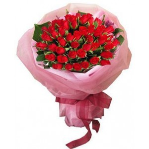 40 Red Roses Bunch