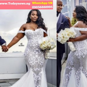 Wedding Gowns in Nigeria lace