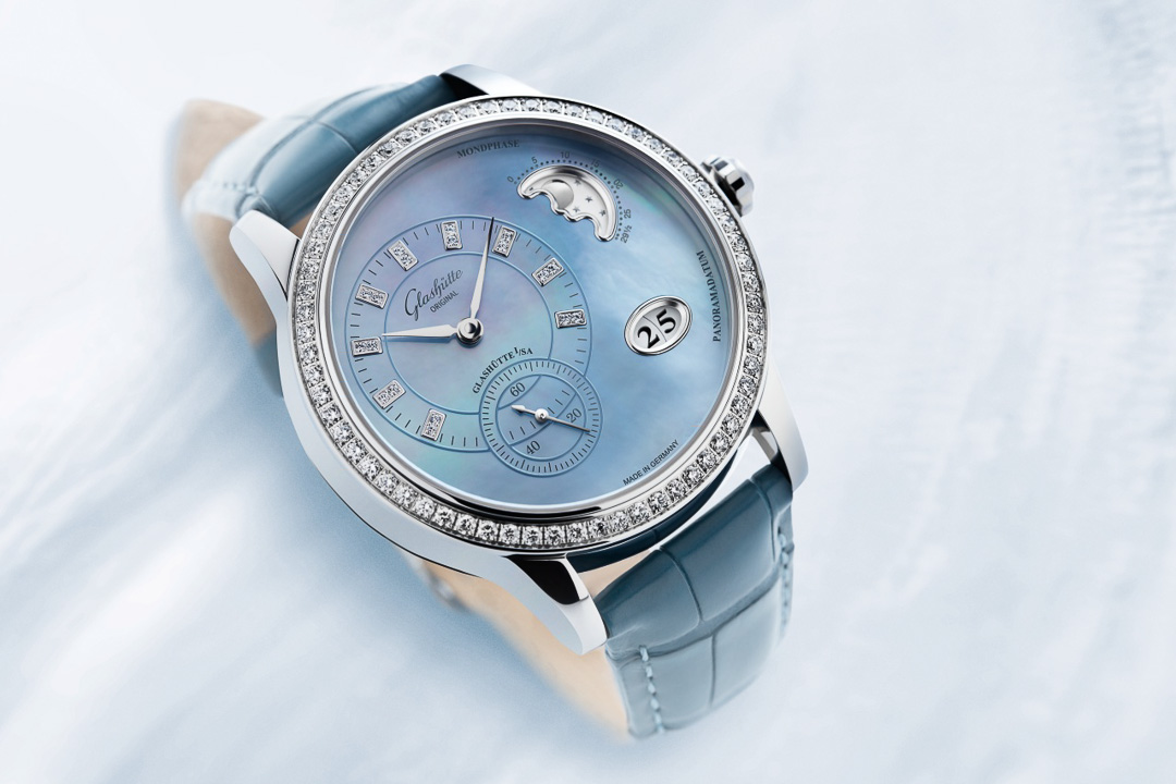 Glashütte Original PanoMatic Luna Blue
