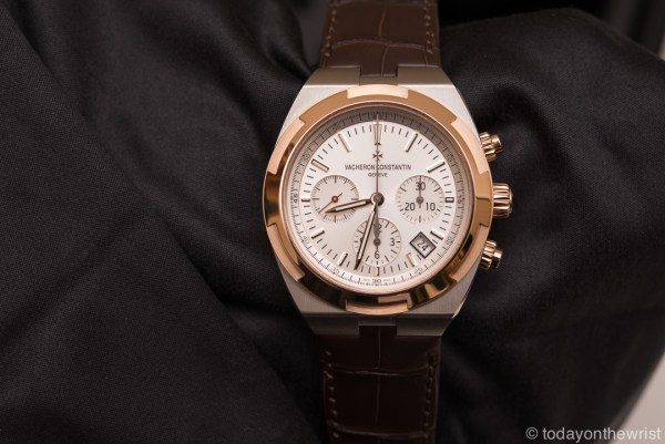 Vacheron Constantin Overseas Two-tone