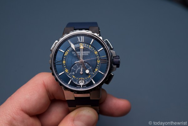 Лучшие спортивные часы 2017 - Ulysse Nardin Marine Regatta.