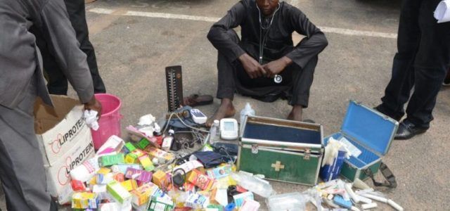 Police arrests fake doctor in Lagos, declares war on illegal hospitals