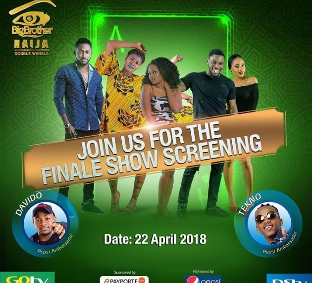 Davido, Tekno set to thrill fans at BBNaija grand finale