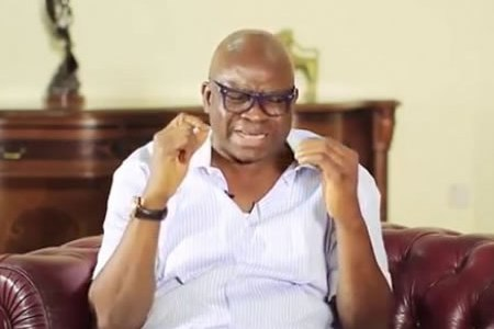 Appeal court freezes Fayose's account