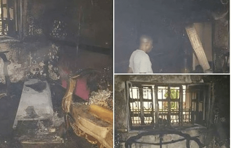 Few days after suspension, Senator Omo Agege's house burns