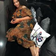 Genevieve Nnaji slays in Ankara dress (photo)