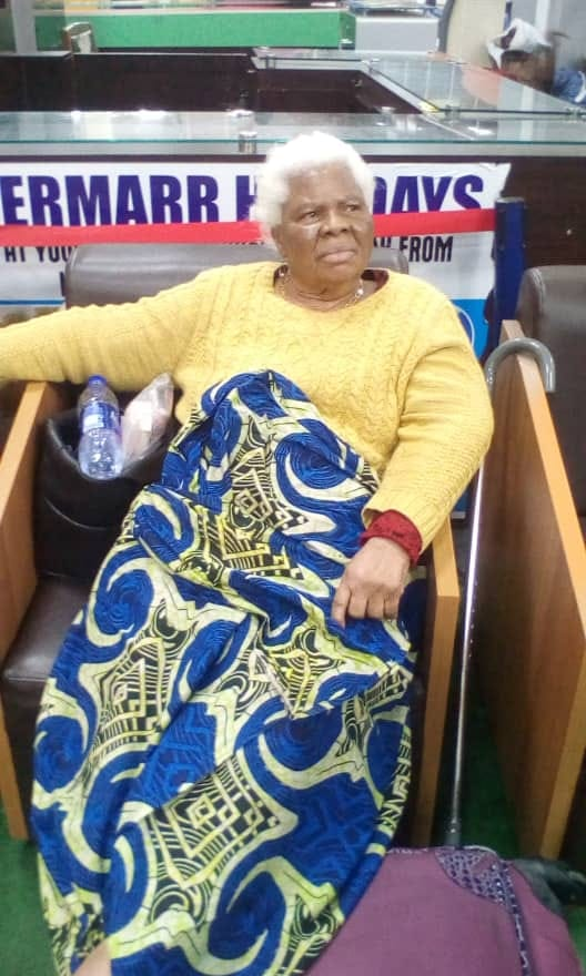 78-yr-old woman abandoned at Lagos Int'l Airport by her children