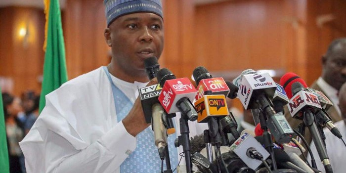 Five revelations from Saraki's World Press Conference