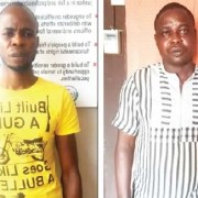 Businessmen arrested for allegedly stealing spare parts