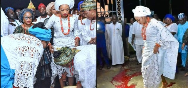 We have concluded necessary rites on Prophetess Naomi- Ooni's Palace
