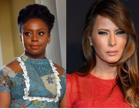 US first lady, Melania Trump is a racist: Chimamanda