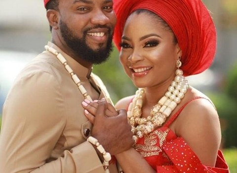 Nollywood actress, Linda Ejiofor, marries actor, Ibrahim Suleiman in stylish traditional wedding (Photos)
