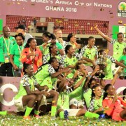 AWCON 2018: Super Falcons emerge champions after one of their toughest encounters