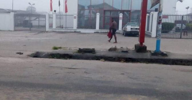 Alleged Yahoo-Boy reportedly 'runs mad' while trying to withdraw from ATM in Delta (Photos)
