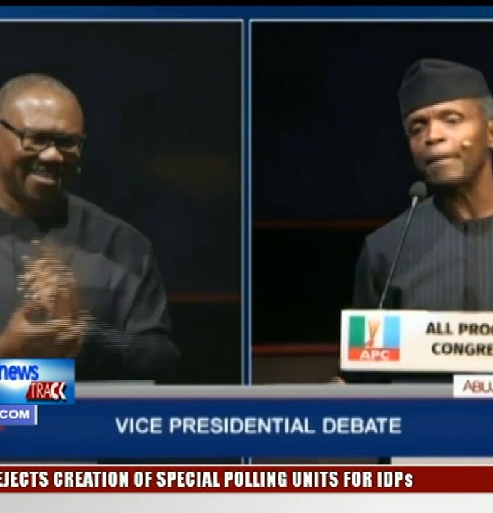 Obi Vs Osinbajo: Nigerians trade words over which candidate killed the debate