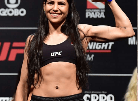 Female UFC fighter beats up man who tried to rob her(photo)