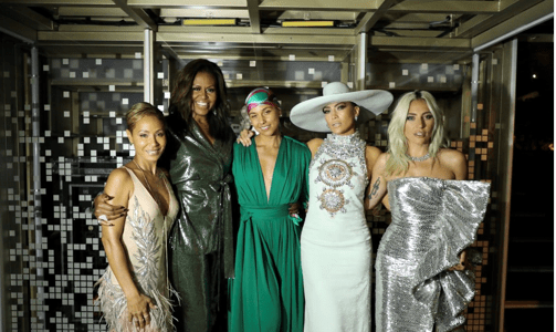 Michelle Obama attends Grammy Awards with Alicia Keys