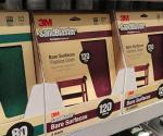 Sandpaper on store shelf