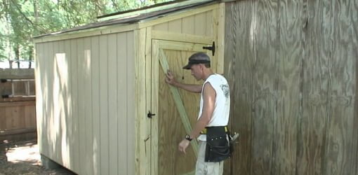 DIY Outdoor Shed Addition Todays Homeowner