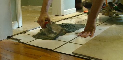 How to Lay Tile Over a Tile Floor | Today\'s Homeowner