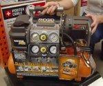 Ridgid Tri-Stack 5-gallon portable air compressor