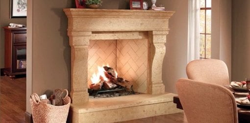 Diy fireplace and door surrounds for your home todays homeowner eldorado stone fireplace surround solutioingenieria Image collections