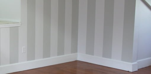 How To Lay Out And Paint Stripes On Interior Walls Today