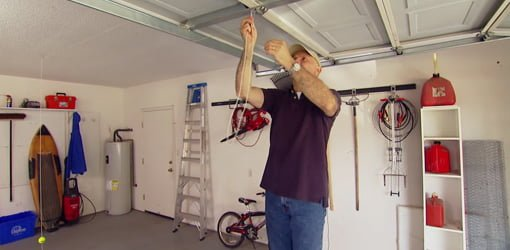 Diy Garage Tennis Ball Parking Gauge Today S Homeowner