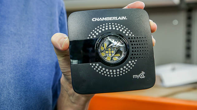 Chamberlain's MyQ Smart Garage Hub makes any garage door opener smart.