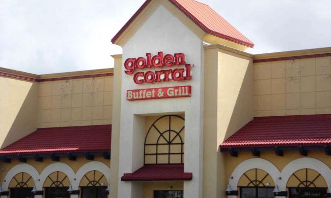 Corral Menu Buffet Dessert Golden