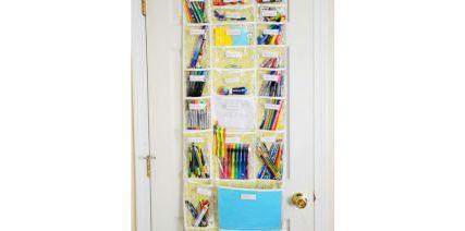 Organize school supplies