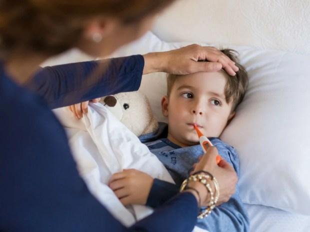 Image result for kid fever
