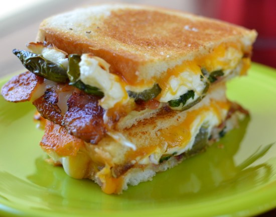 Jalapeno Poppers | Grilled Cheese Sandwich