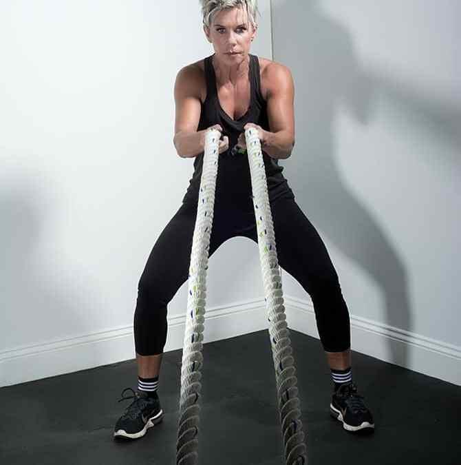 Ursula Brady Won't Miss a Workout