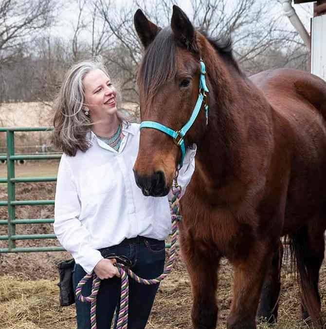 She Rescued a Horse!