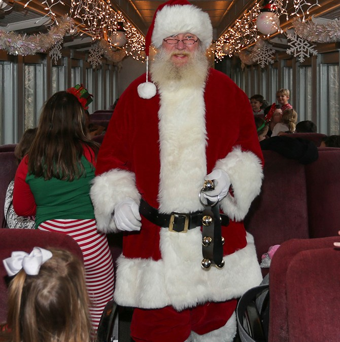 Win a Trip on the Santa Express!