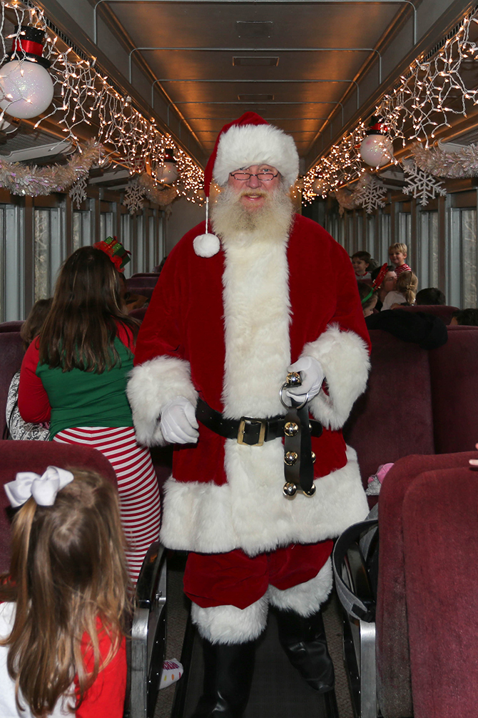 Win a Trip on the Santa Express!