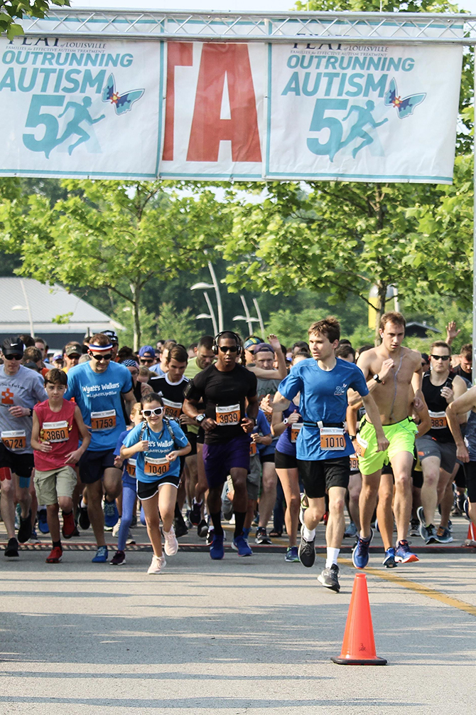 Win Free Registration for the Outrunning Autism Virtual 5K!