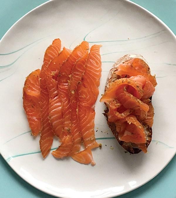 Try Smoked Salmon