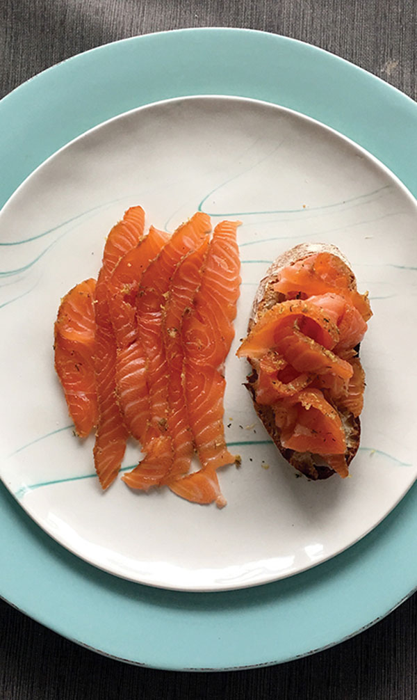 Try Smoked Salmon