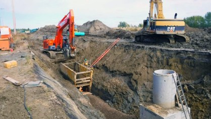 Wastewater Pipeline Construction